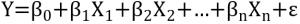 Grundform der linearen Regression